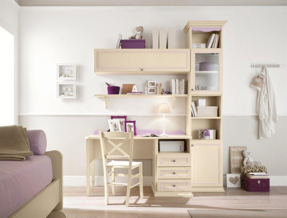 Camerette Vintage ~ Camerette arcadia scrivania in glicine e magnolia colombini
