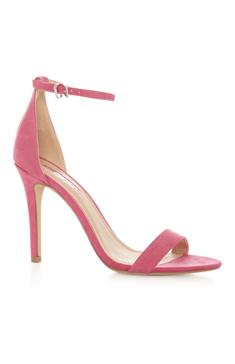 Primark - Pink Ankle Strap Heel Sandal | Food, drinks | Pinterest ...