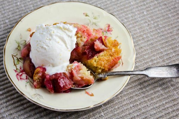 made this over the weekend.  SO GOOD.  Rhubarb Strawberry Pudding Cake
