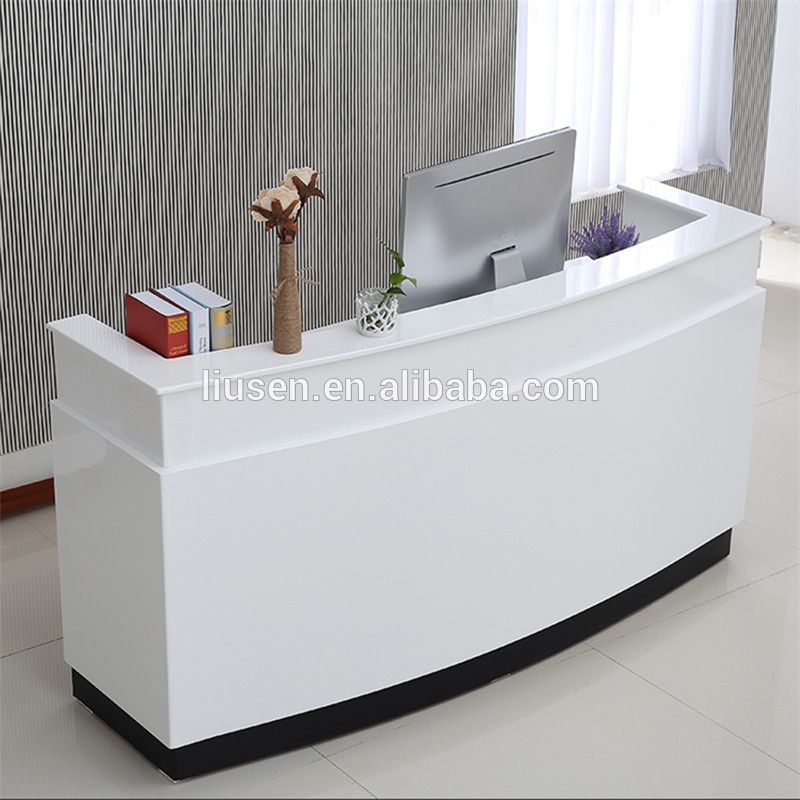High Class Low Price Mdf Office Furniture White Modern