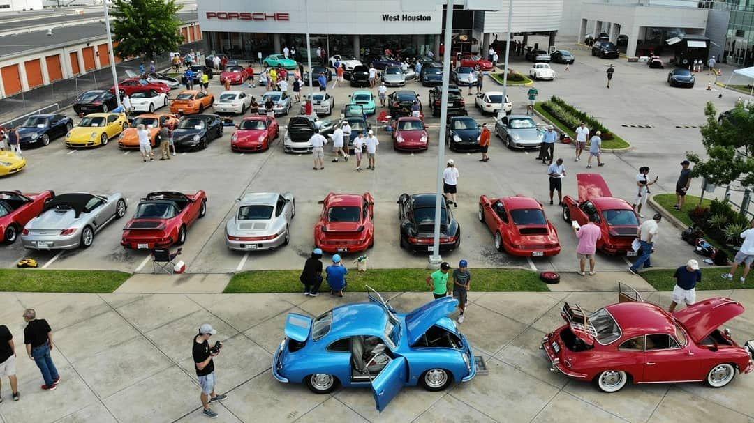 Porsche West Houston >> Sportscartogetherday Is Happening Right Now At Porsche Of West