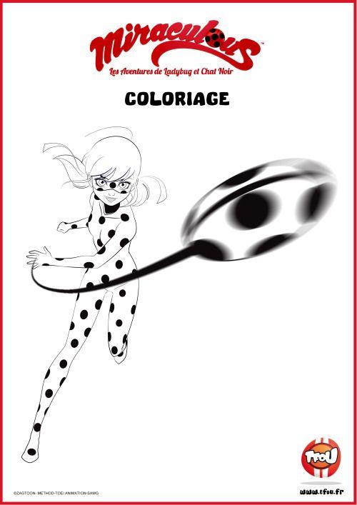 Miraculeusecoccinelle Tfoufr Les Coloriages Miraculous Tfou Has
