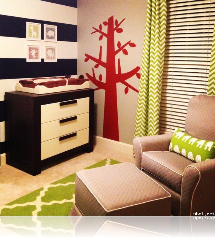 Modern Safari Baby Boy Nursery Primary Colors | Simple Home Design ...