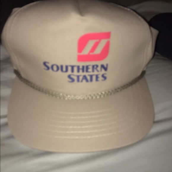 Vintage SnapBack Hat A vintage SnapBack with Southern States on the front. Good  condition. Accessories Hats b19e90fdb3d3