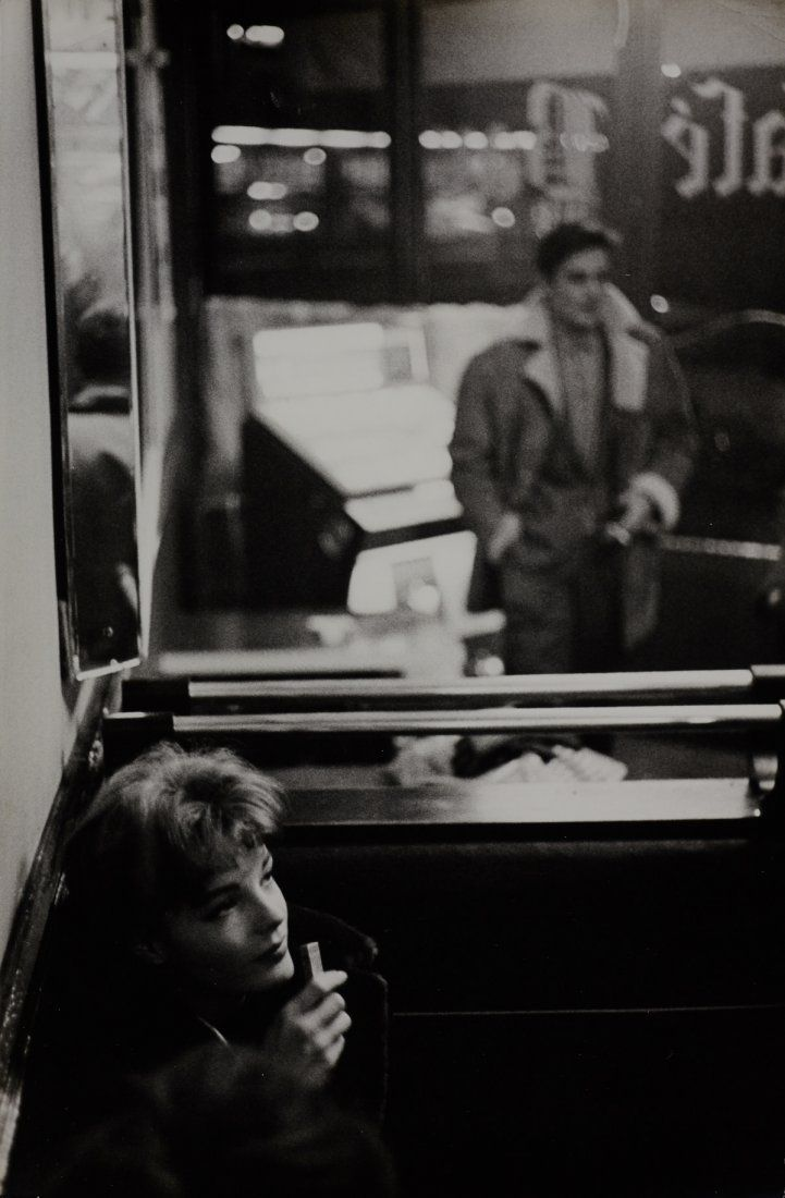 Romy Schneider and Alain Delon, Paris, 1959