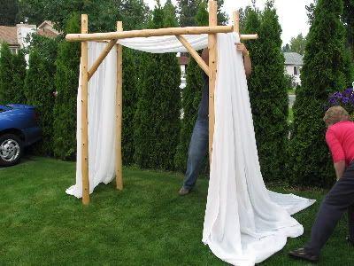 Une Arche Diy En Bambou Wedding M L En 2019 Arche