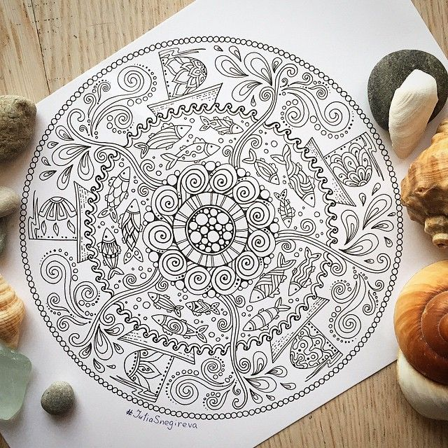 Awesome Inspiration! This mandala comes to life! | Inspirational ...