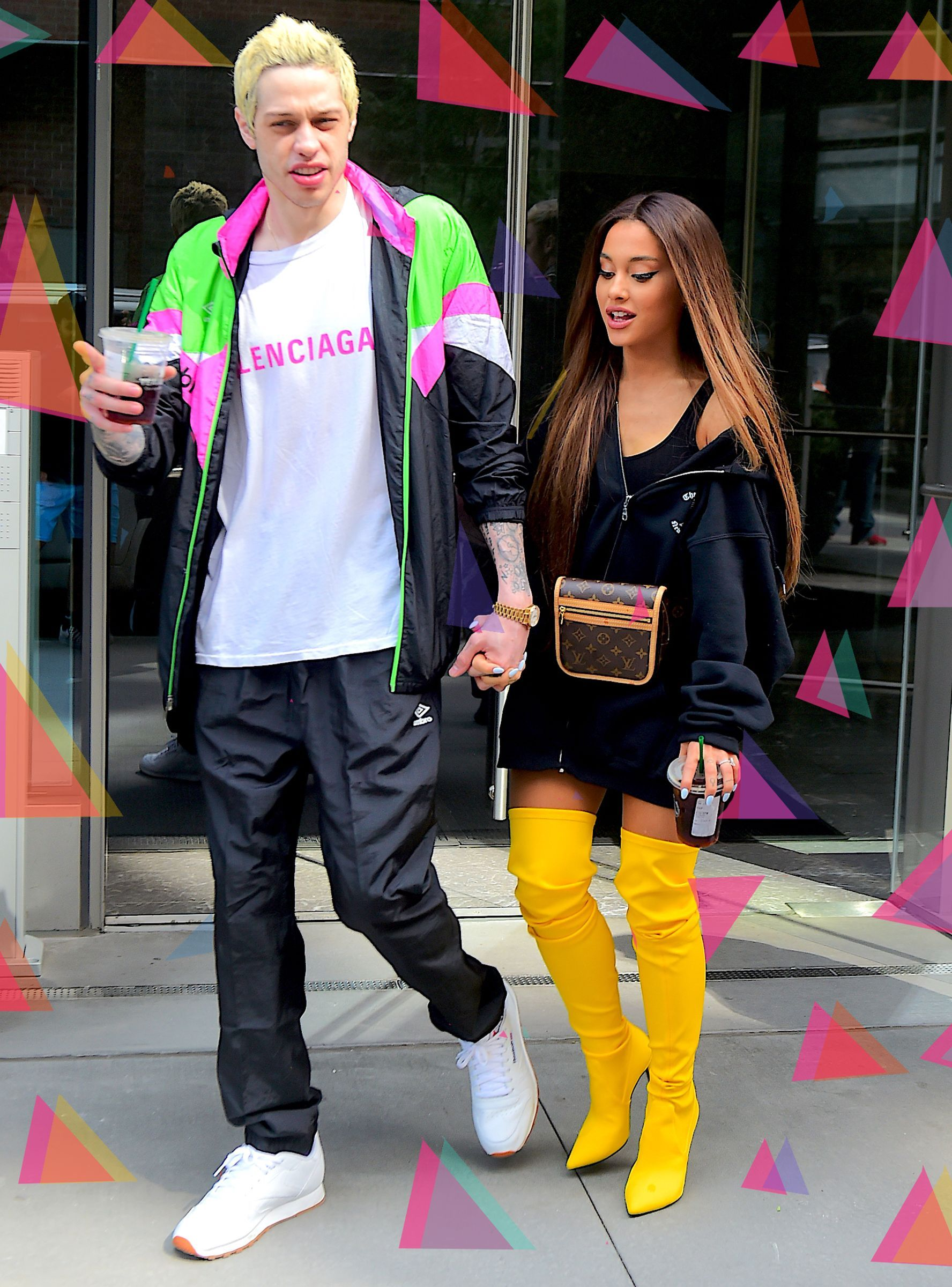 5c886d411bd0 Get Down On One Knee  It s Not For Ariana Grande   Pete Davidson in ...