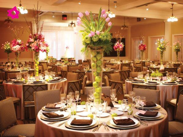 Los centros de mesa para boda con frutas pueden ser for Decoracion de canapes