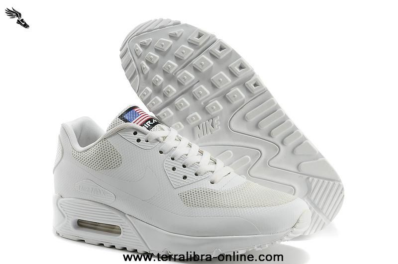 newest b0902 77fcd ... australia independence day nike air max 90 hyperfuse qs men shoes all  white 613841 110.