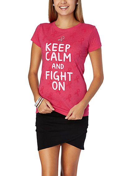 Pink Ribbon Fight On Tee