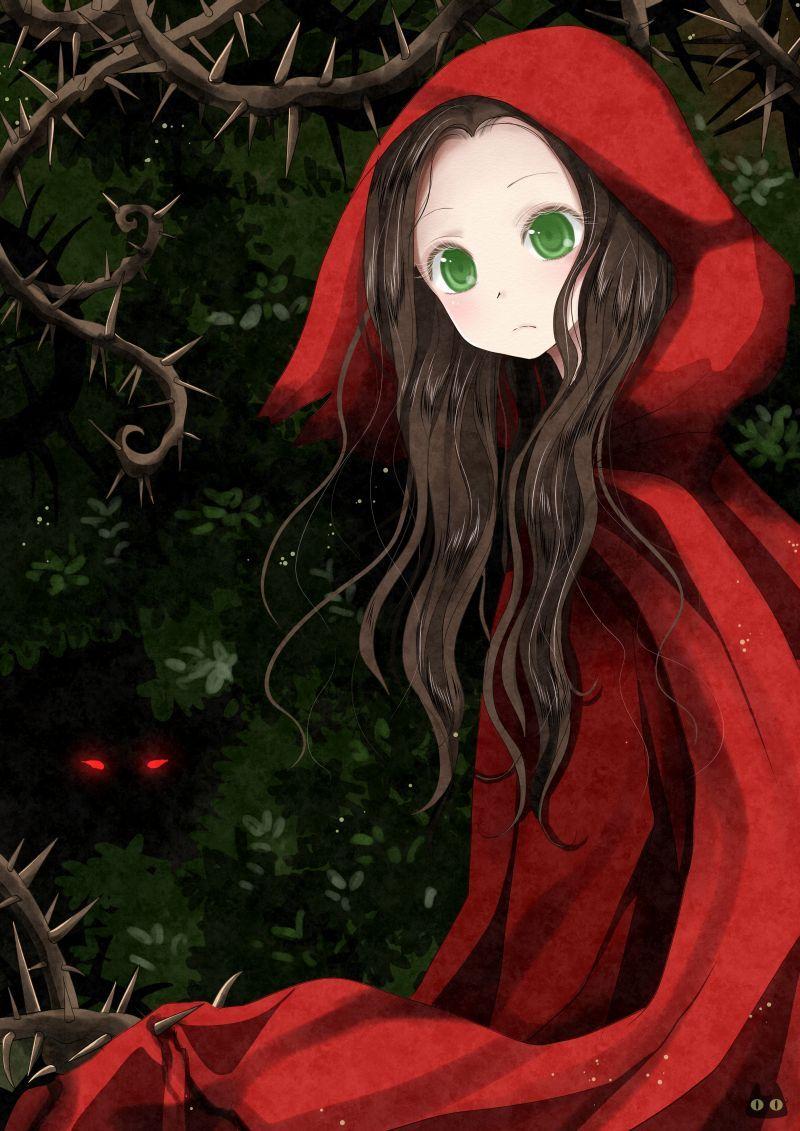 Caperucita Roja By Paulinaapc On Deviantart Red Riding Hood Tumblr Art Little Red Riding Hood