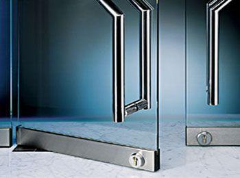 Frameless Lock At Floor Frameless Glass Doors Glass Door Doors