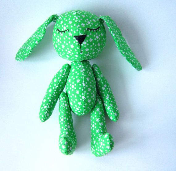 PDF sewing pattern and tutorial bunny 9inch, bunny sewing pattern ...