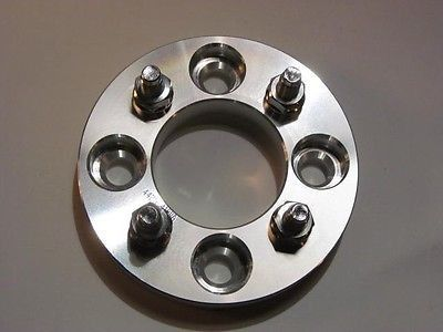 "4x110 to 4x100 US Made Wheel Adapters 12x1.5 Lug Studs Spacers x2 hub 1.5/"" Thick"