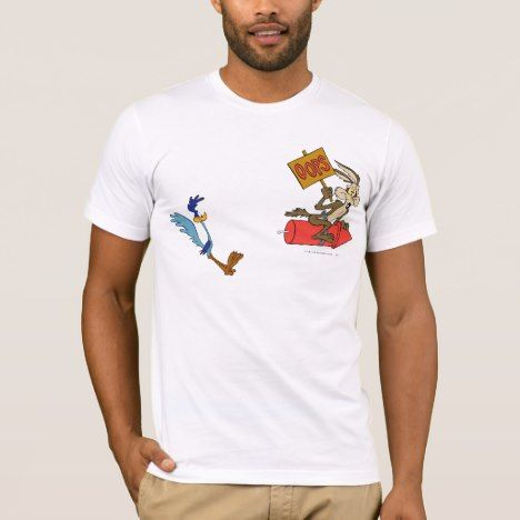 Wile E Coyote and ROAD RUNNER™ Acme Products 5 2 TShirt