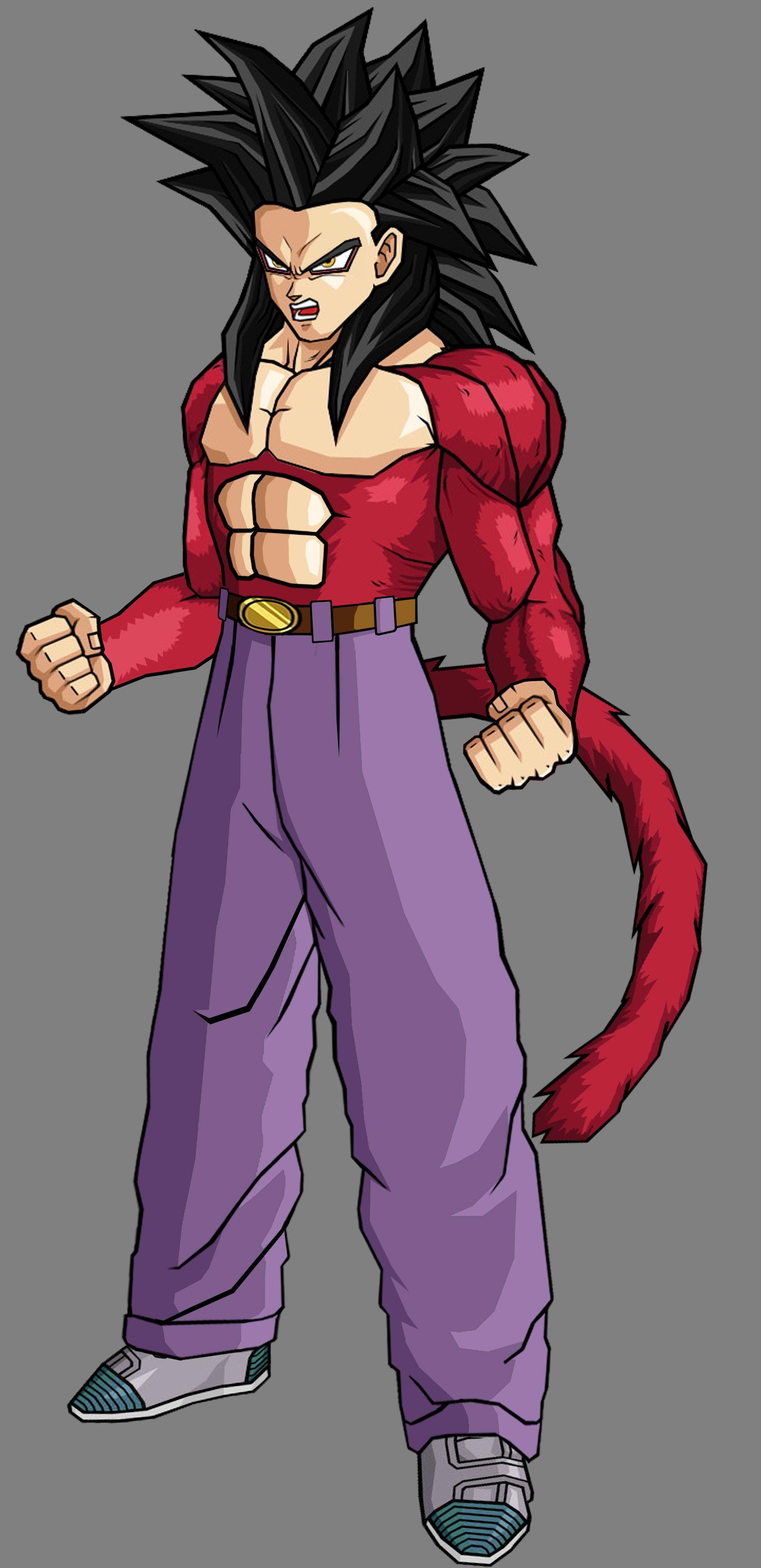 Teen Goten Ssj4 Dragonball Z Pinterest Dragon Ball Dbz And