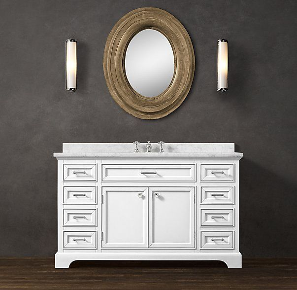 Kent extra wide single vanity sink other sizes and for Master bathroom vanity single sink