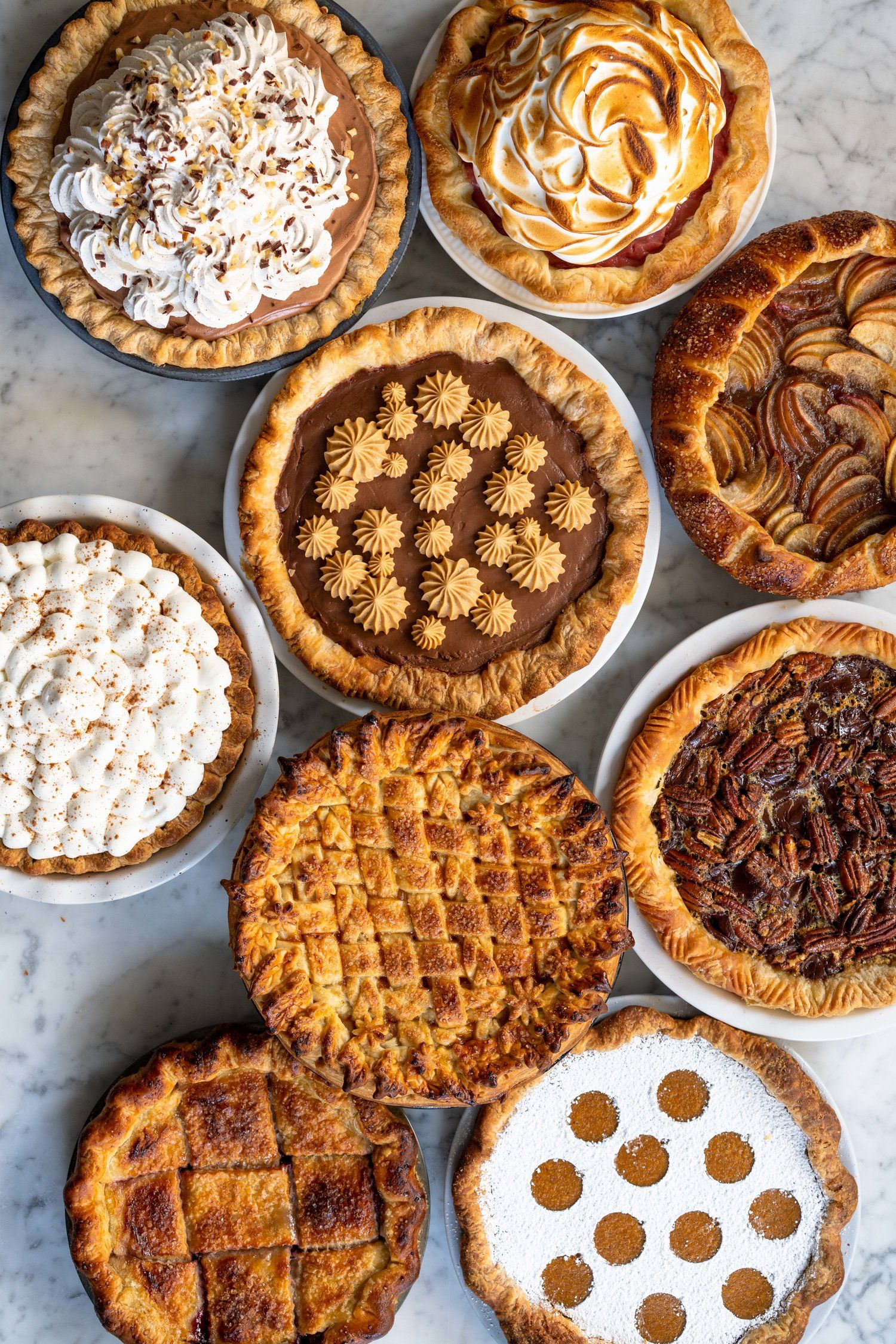 Nine of the best Thanksgiving Pies - Cloudy Kitche