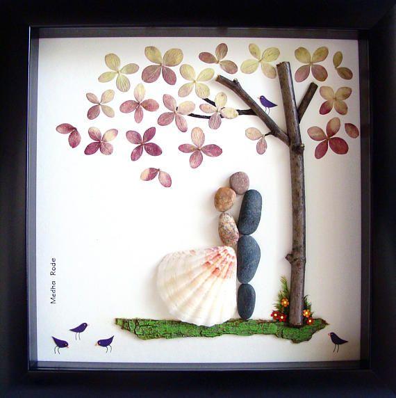 Am Besten Sie Hochzeit Geschenk Pebble Art Einzigartige Hochzeit Geschenk Brautigam Braut Gesche Brautigam Geschenk Aussergewohnliche Geschenke Geschenke