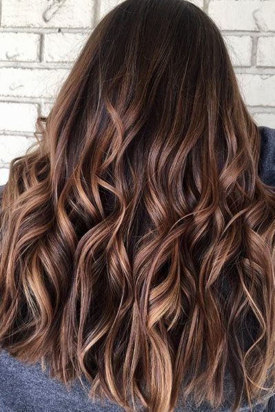 34 Hair Color Trend 2018/2019 With Highlight  Hairstyle  Hair, Hair Color, Fall hair color for