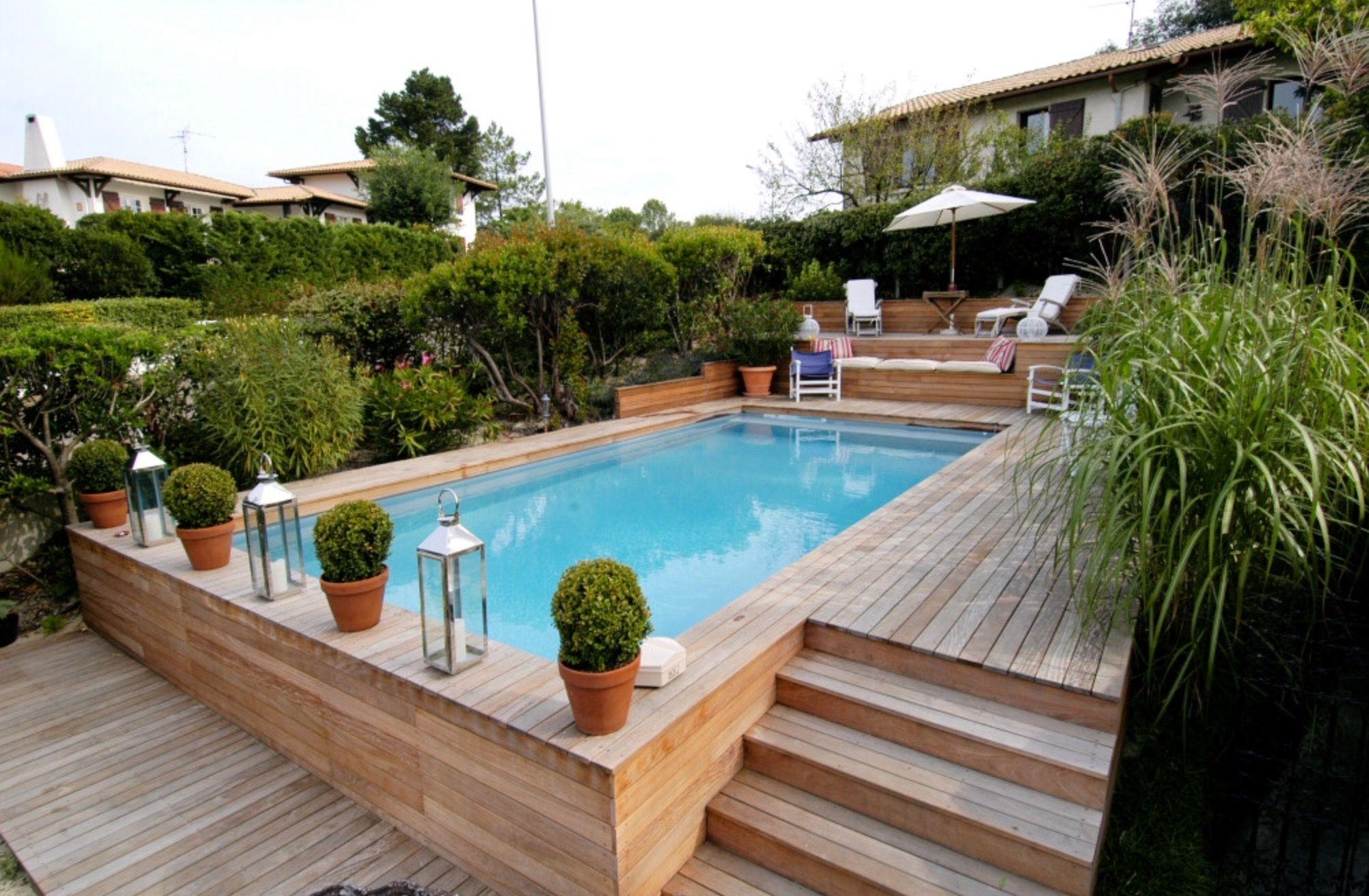 Piscine En Pierre Hors Sol pindavin bernardi on pool | backyard pool landscaping