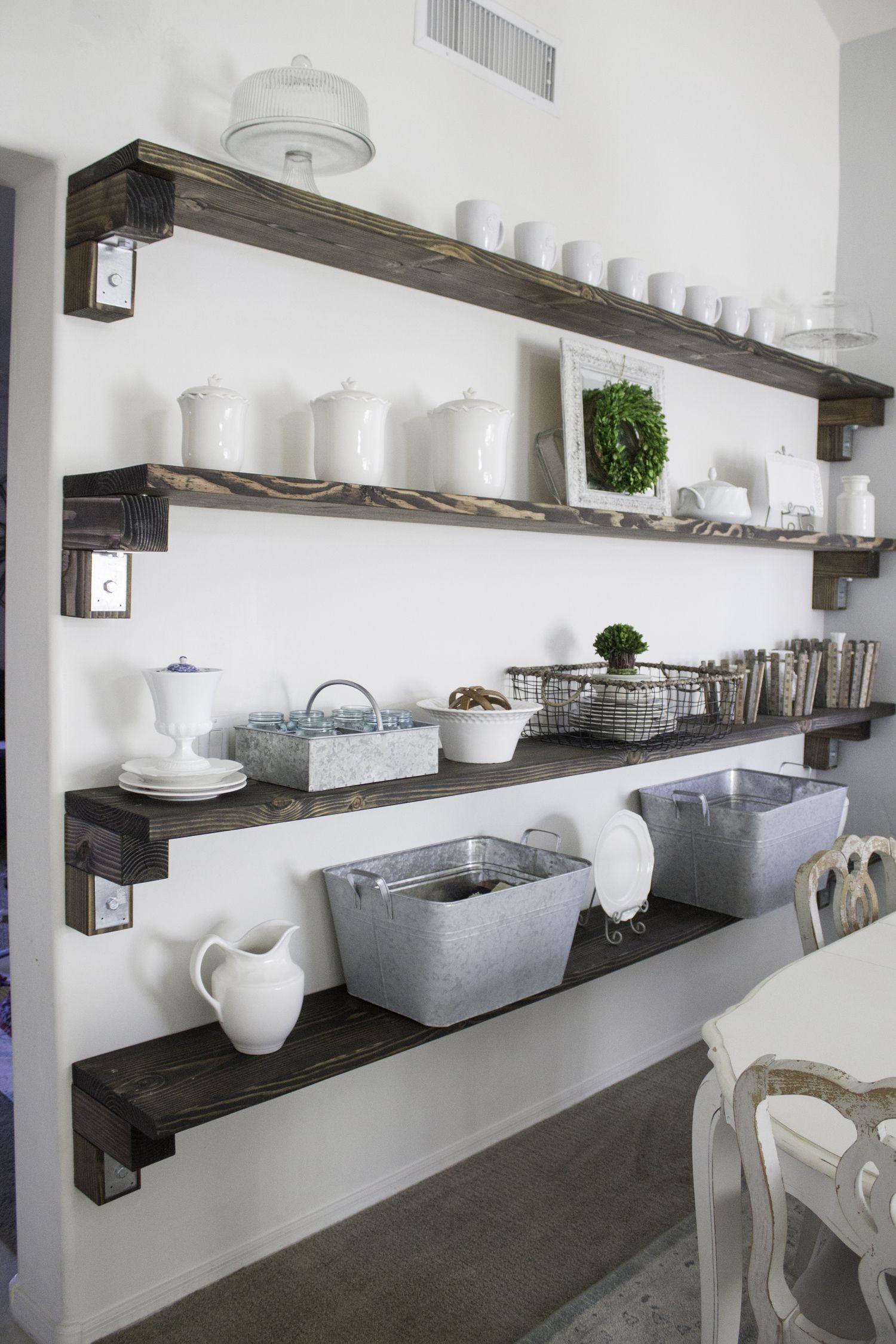 Farmhouse Storage And Organization Ideas Dining Room