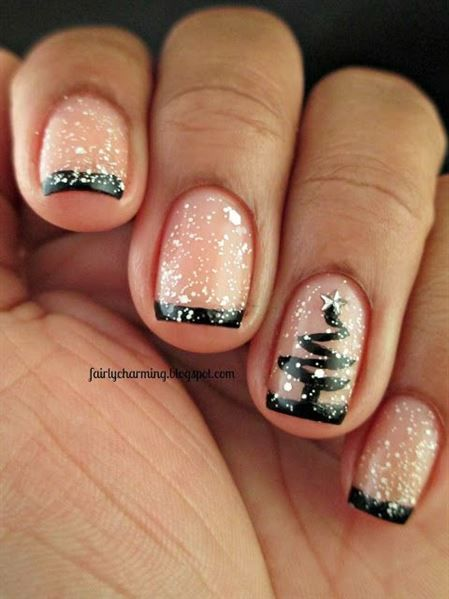 11 Holiday Nail Art Designs Too Pretty To Pass Up Pinterest
