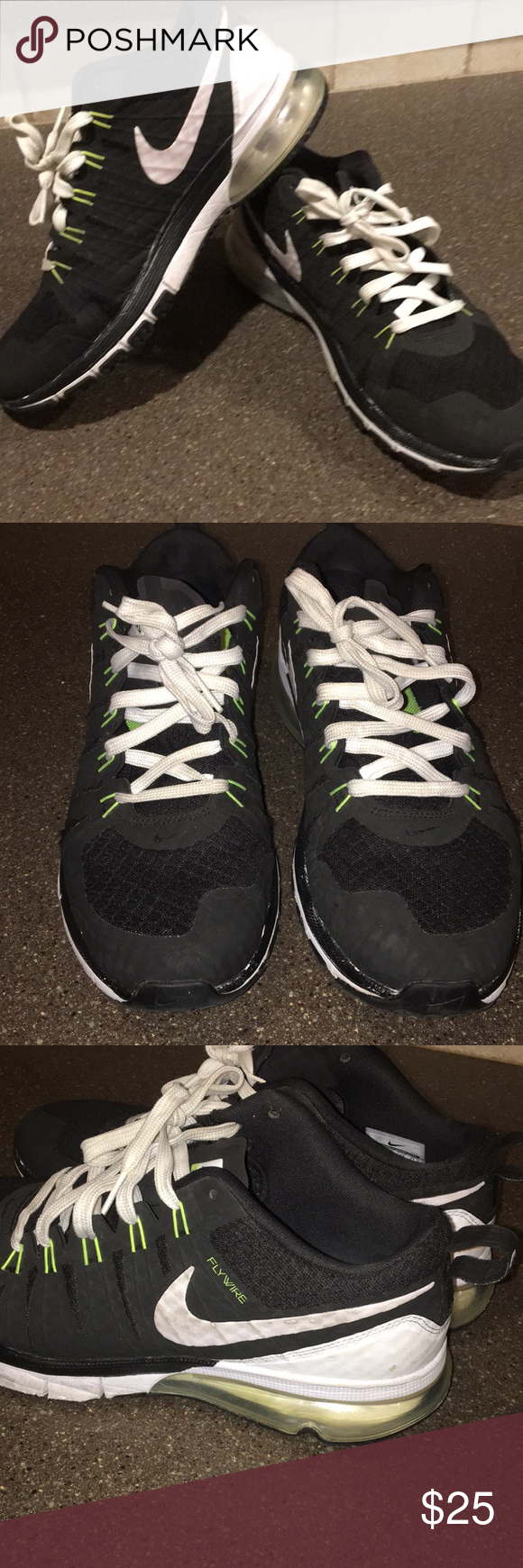 Men's NIKE Air max Tri 180 men's sneaker 9.5 Great used condition NIKE  tennis shoe. Size 9.5. My son only wore these for a month or so before he  grew out of ...