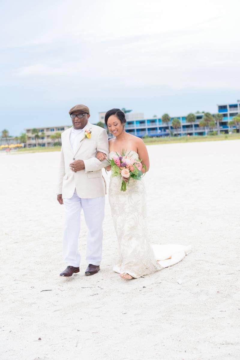 b3a0d61b7c Bilmar Tropical Treasure Island Beach Wedding via Black Bride ...