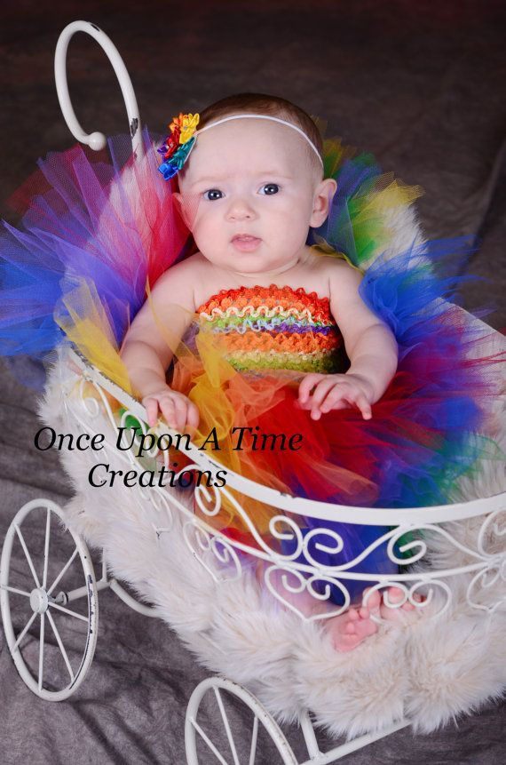 Rainbow Circus Clown Tutu Dress   Baby Girl Size Newborn 3 6 9 12 Months   Halloween  Costume, Birthday Outfit, Pageant Dress Up On Etsy, $24.99