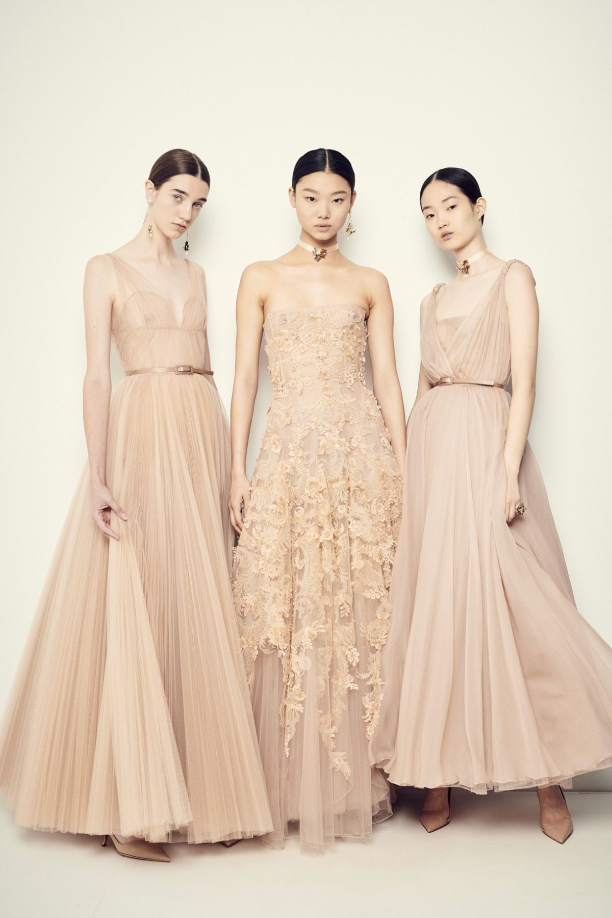 f3c6be48c6 Variations of Nude | Dress | Dior gown, Dior haute couture, Fashion