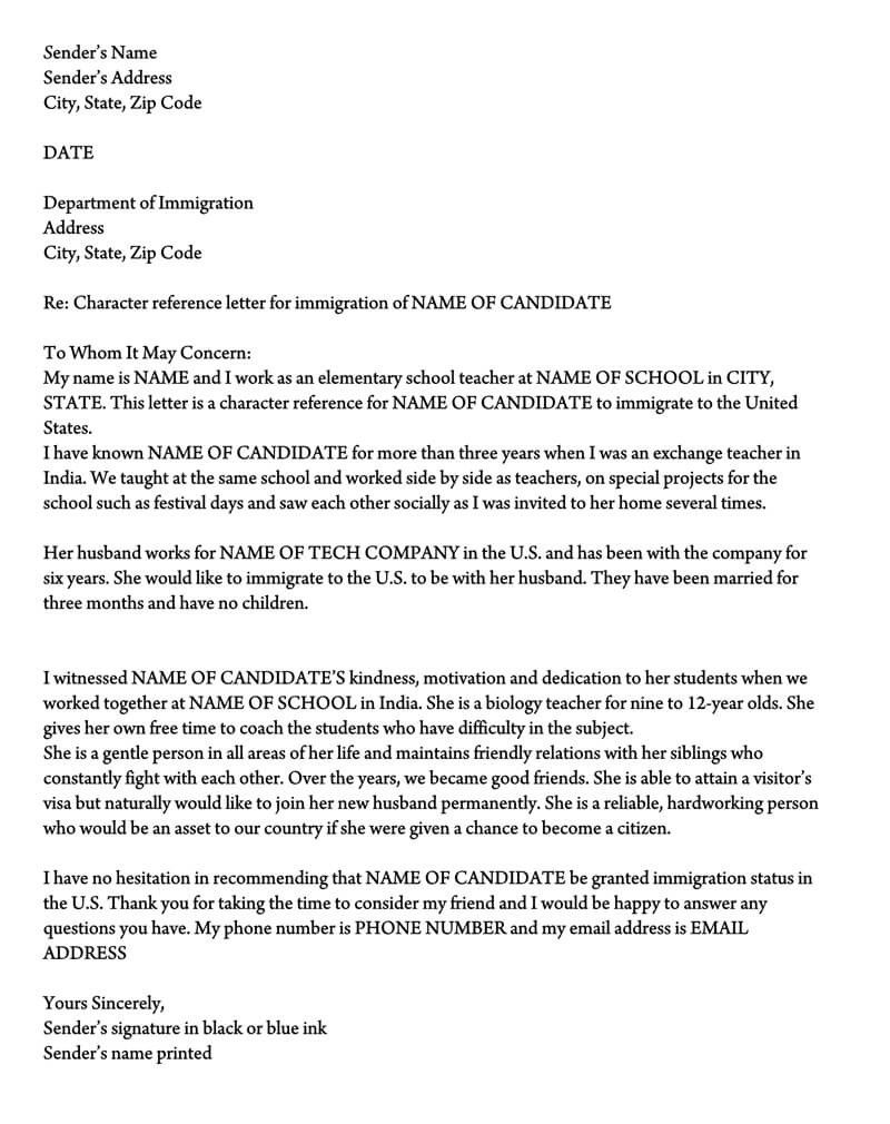 A Letter to Immigration Officer Sample Luxury Letter Of Support