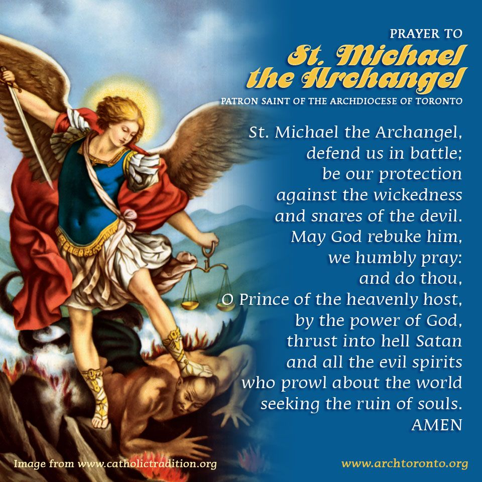 archangel michael prayer - 960×960