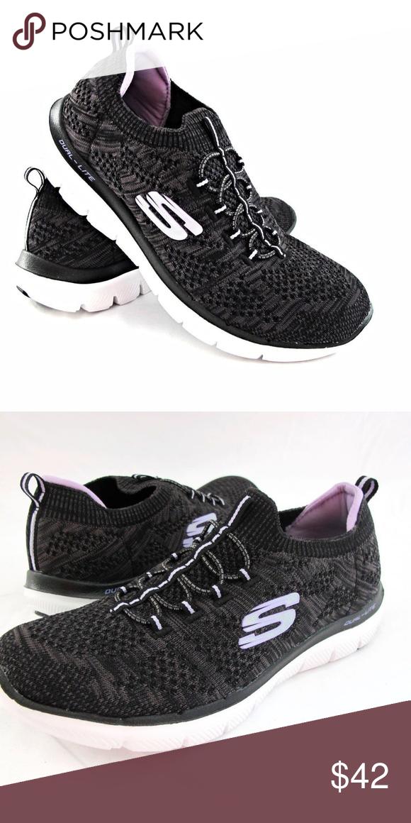 Skechers Ladies Bungee Slip On Shoe