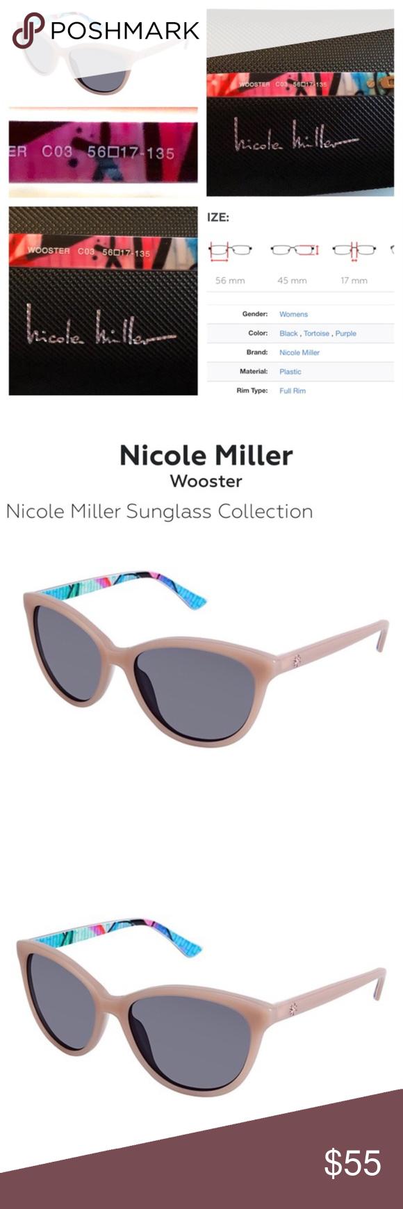 1d08e425f39b3 Nicole Miller Wooster Semi Cat Eye Sunglasses The Nicole Miller Wooster is  a superb Sunglasses Fully