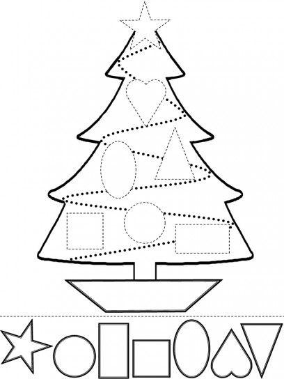 Adornos navideos para nios colorea y recorta arte para nios