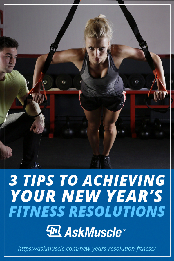 3 Tips To Achieving Your Fitness New Years Resolutions | Having a #fitness New Year's #resolution is...