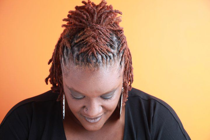 Locs With Color Black Women Natural Hairstyles Dreadlock Styles Locs Hairstyles Natural Hair Styles