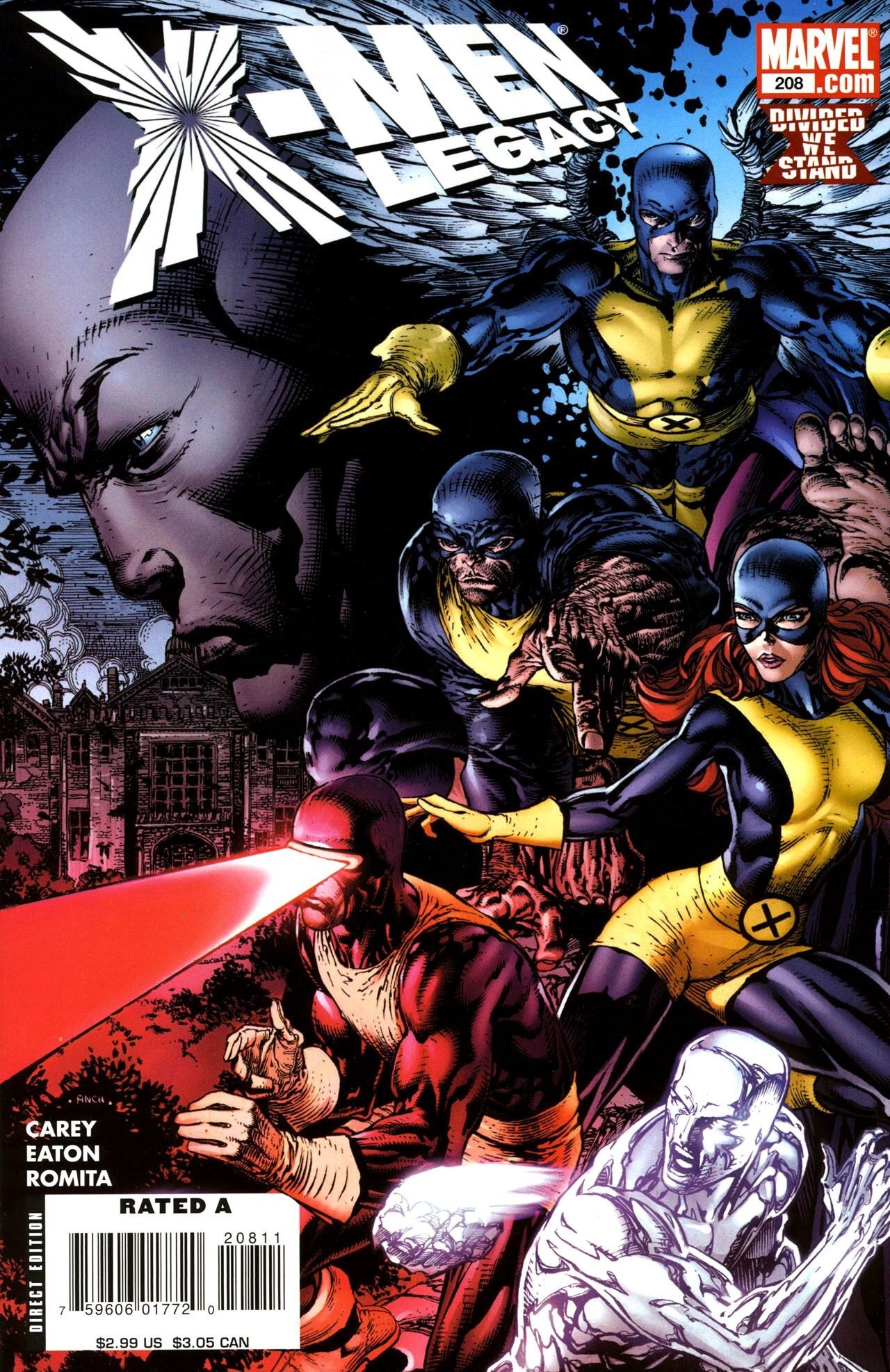 X Men Legacy Vol 1 208 Cover Art By David Finch Comics Marvel Comic Books Comic Books