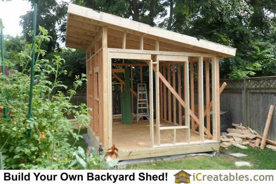 How To Build Great Shed With Shed Plans Free Modern Shed Shed Design Backyard Sheds