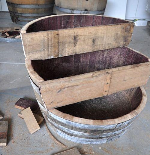 Diy Project Recycled Barrel Planter Design Sponge Wine Barrel Planter Barrel Planter Recycled Barrel