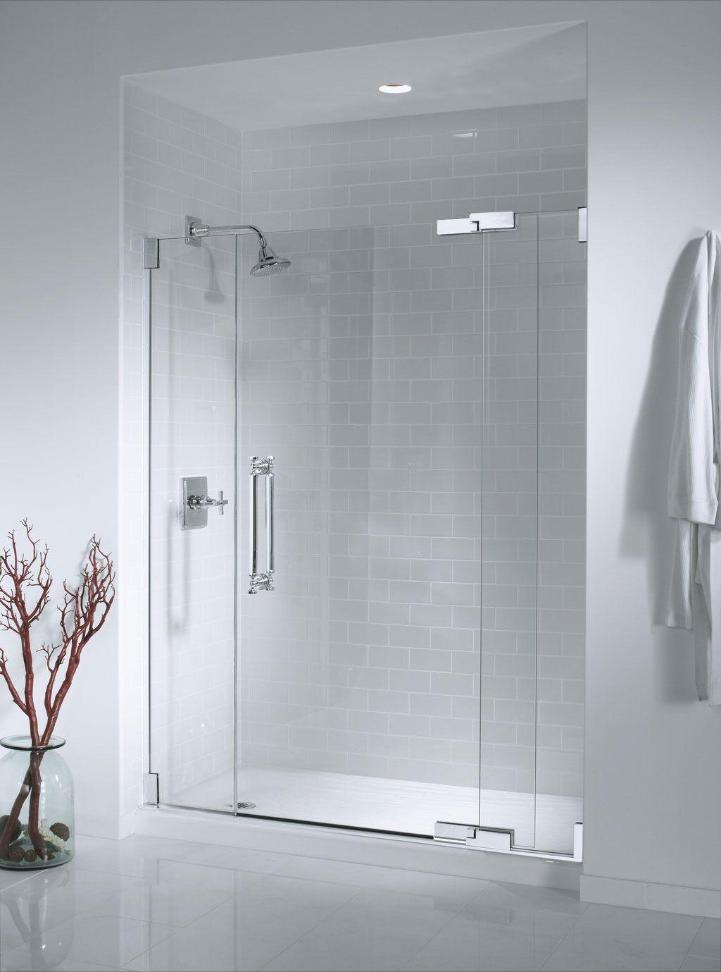modern frameless shower doors. Bathroom Interior, Glass Shower Doors \u2013 The Affection Of Modernity: Nice Modern Frameless L