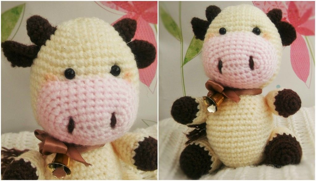Easy Amigurumi Crochet Patterns : Candy the cow u free amigurumi crochet pattern crochet mermaid