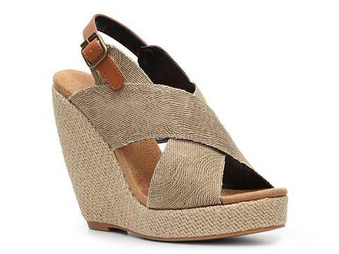 Dolce by Mojo Moxy Sunset Wedge Sandal Women's Wedge Sandals Sandals Women's Shoes - DSW
