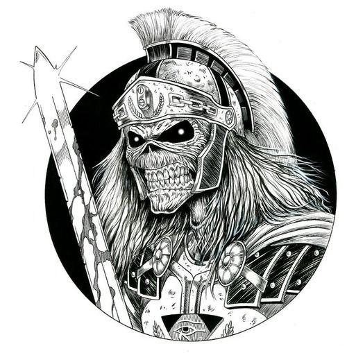 Dis Tattoo Imagenes De Rock Metal Bandas De Rock Metal Imagenes De Iron Maiden