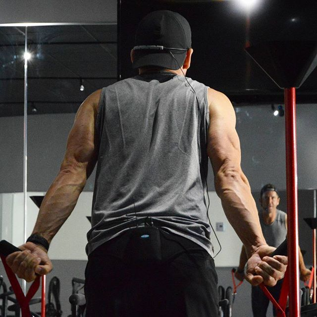 """In my best Arnold Schwarzenegger voice """"I'll be back"""". Just so you know this is Lagree made! Be safe tonight and I'll see you in the morning.  #gymlife #weekendworkout #lagreefitnessinstructor #lagree #lagreefitness #coreplusfitness #oclife #oc #workoutdone #megaformer #Fitness #fitforlife #fitnesslifestyle #illbeback #arnoldschwarzenegger"""