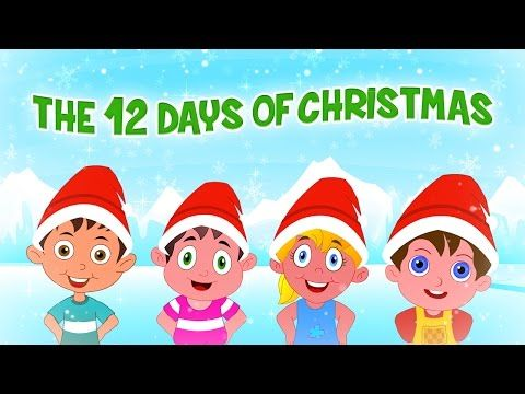 12 Days of Christmas Christmas Carol by KidsCamp - YouTube