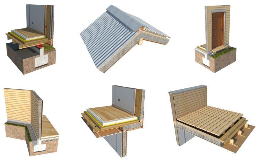 De cimientos a techumbres 10 soluciones constructivas en madera en - Terrasse Sur Pilotis Prix