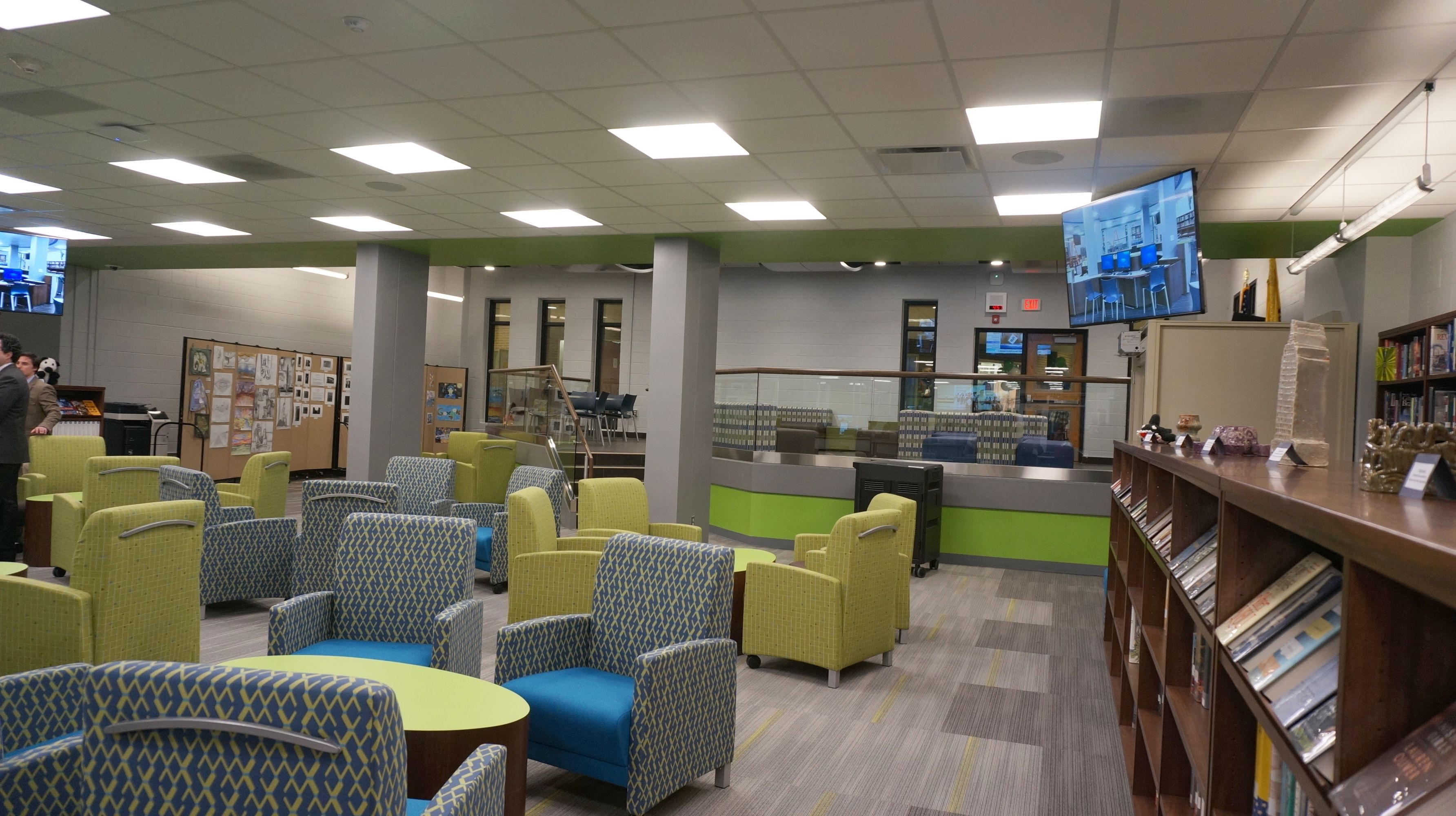 Related image | Library Remodel | Media center, High school